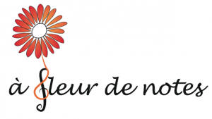 Logo de l'association A Fleur de Notes, organisauters de ATours de Notes